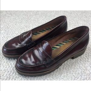 Sperry Top-Sider Windsor Heeled Penny Loafers 8.5M